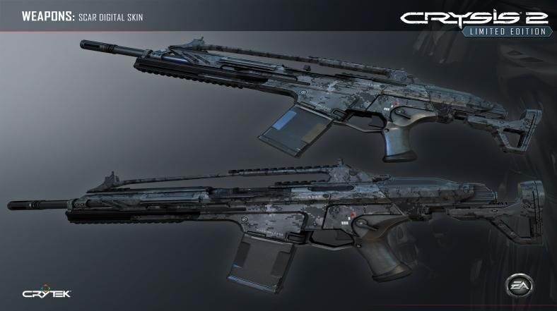 Scar - Digital Weapon Skin